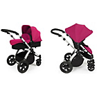 more details on Ickle bubba Stomp V2 2-in-1 Pushchair - Pink.