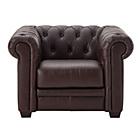 more details on Heart of House Chesterfield Leather Chair - Chocolate.