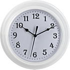 more details on Simple Value White Plastic Wall Clock.