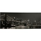 more details on Brooklyn Bridge at Night Canvas.