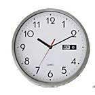 more details on Silver Day and Date Wall Clock.