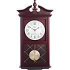 more details on Living Constant Dark Oak Regulator Pendulum Wall Clock.