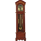 more details on Walnut Floor Standing Pendulum Grandfather Clock.