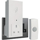 more details on White 30m Plug Through Wireless Doorbell Kit.