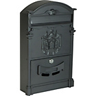 more details on HOME Traditional Aluminium Imperial Lockable Letter Box.