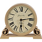more details on Jones Decorative Mantel Clock - Cream.