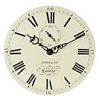 more details on Jones by Newgate Cream Classic Darwin Wall Clock.