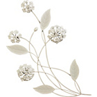 more details on Cream Metal Alliums Wall Art.
