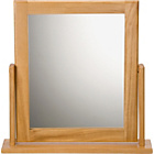 more details on HOME Square Dressing Table Mirror - Oak Effect.