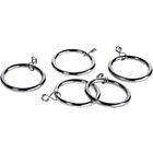 more details on 20 Metal Curtain Rings - Stainless Steel.