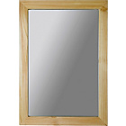 more details on Wooden Wall Mirror - Oak Effect.