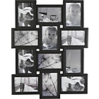 more details on 12 Print Aperture Photo Frame - Black.