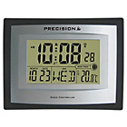 more details on Living Precision Silver LED Radio Controlled Clock.