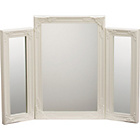 more details on Ivory Swept Triple Dressing Table Mirror.
