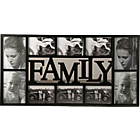 more details on Family 10 Print Photo Frame - Black.