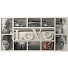 more details on Love 10 Print Photo Frame - White.