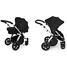 more details on Ickle bubba Stomp V2 2-in-1 Pushchair - Black.