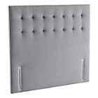 more details on Silentnight Alaro Double Headboard - Charcoal.