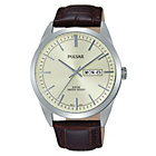 more details on Pulsar Men's Brown Strap Cream Dial Watch.
