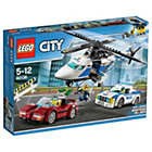 more details on LEGO City High Speed Chase - 60138.