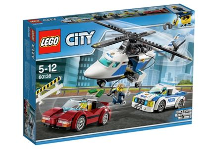 LEGO City High Speed Chase - 60138.
