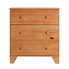 more details on BabyStart Oxford Chest of Drawers - Pine with Oak finish.