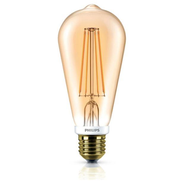 Buy Philps Led Classic 7w 50w Es Clear Flame Light Bulb At Your Online Shop For