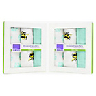 more details on Bambino Mio Muslin Squares Bumble - 3 Pack x 2.