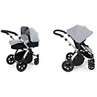 more details on Ickle bubba Stomp V2 2-in-1 Pushchair - Silver.