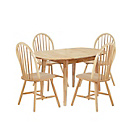 more details on Home of Style Thornbury Dining Table with 4 Country Chairs.