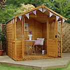 more details on Mercia Traditional Shiplap 7 x 7 Summerhouse with Veranda.