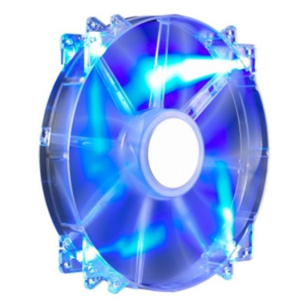 buy cooler master megaflow 200 blue led fan at. Black Bedroom Furniture Sets. Home Design Ideas