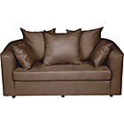 more details on Jess Foam Fold Out Sofa Bed - Chocolate.