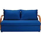 more details on Fizz Foam Fold Out Sofa Bed - Blue.