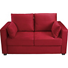 more details on Apartment Fabric Metal Action Sofa Bed - Red.