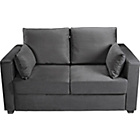 more details on Apartment Fabric Metal Action Sofa Bed - Charcoal.