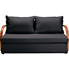 more details on Fizz Foam Fold Out Sofa Bed - Black.