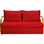 more details on Fizz Foam Fold Out Sofa Bed - Red.