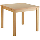 more details on Collection Farnhill 90 x 168cm Extendable Table - Natural.