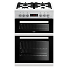 more details on Beko KDDF653W Dual Fuel Cooker - White.