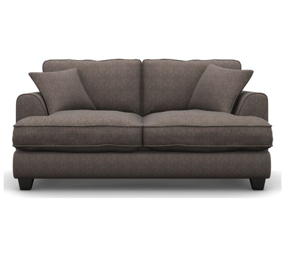 Buy heart of house hampstead 2 seater fabric sofa bed for Shale sofa bed
