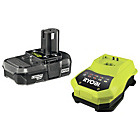 more details on Ryobi RBC18L 1.3Ah Battery & Charger.