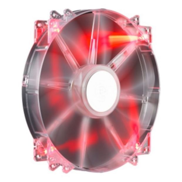 buy cooler master megaflow 200 red led fan at. Black Bedroom Furniture Sets. Home Design Ideas