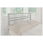 more details on Atlas Metal Single Headboard - Silver.