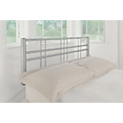 more details on Atlas Metal Double Headboard - Silver.