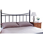 more details on Alderley Kingsize Headboard - Black.