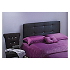 more details on Jordan Single Headboard - Black.