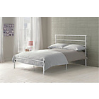 more details on Avalon Single Bed Frame - White.