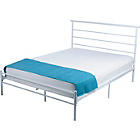 more details on HOME Avalon Kingsize Bed Frame - White.