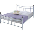 more details on Darla Double Bed Frame - White.
